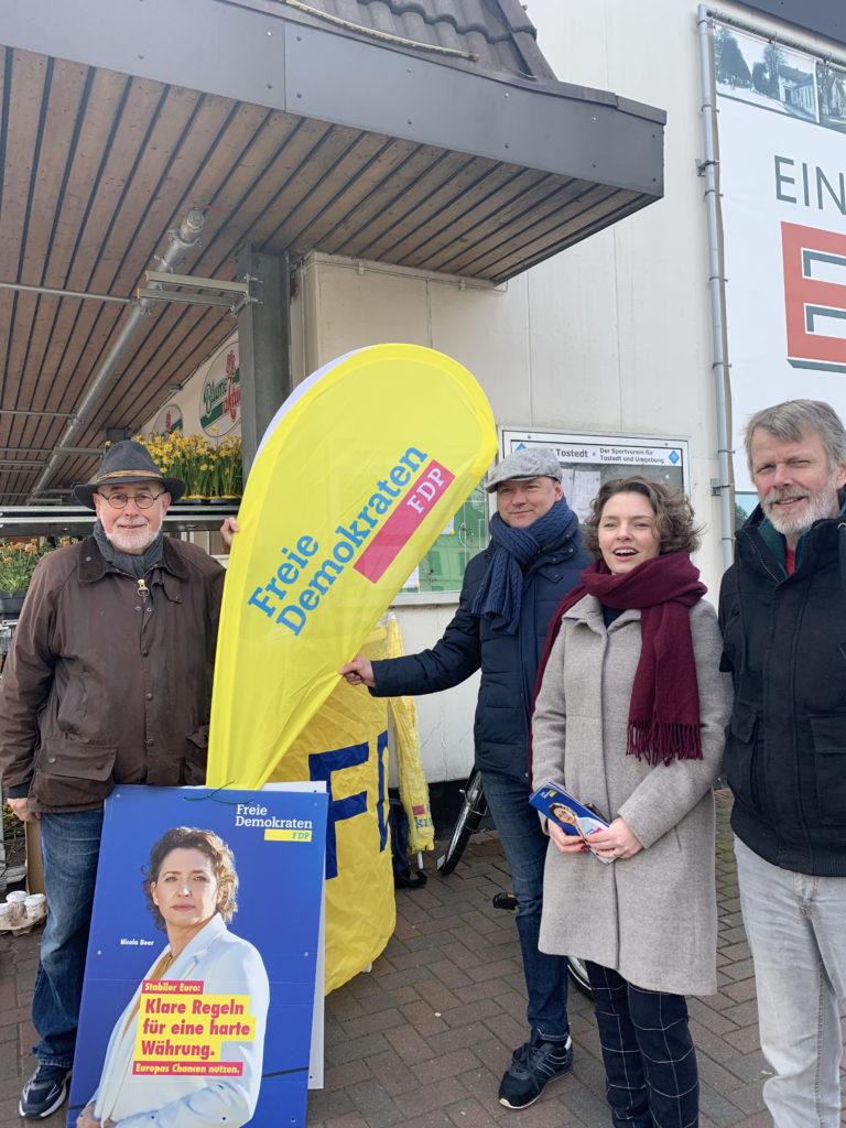 FDP Europawahlinfostand